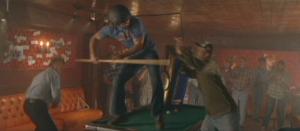 Dukes Seann kicks Ian
