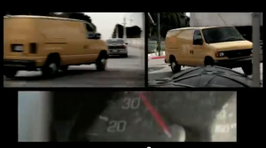 RCR car chase